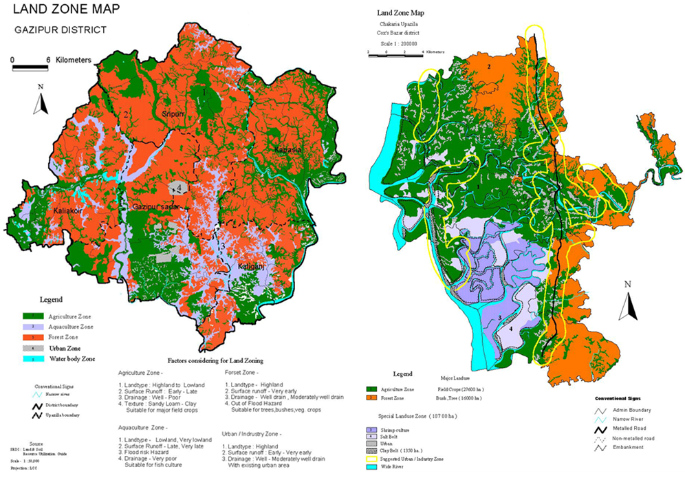 Land Zoning: Concept and its Urgency in Bangladesh